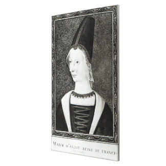Marie d'Anjou  Queen of France Canvas Print