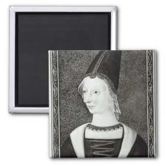 Marie d'Anjou  Queen of France Magnet