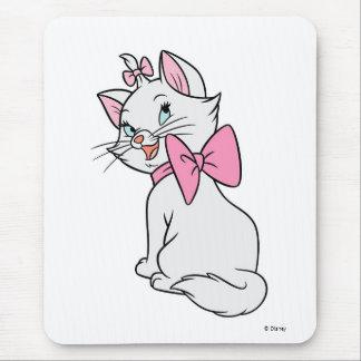 Marie de Aristocats que se sienta haciendo frente Mouse Pads