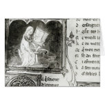 Marie de France  writing Cards