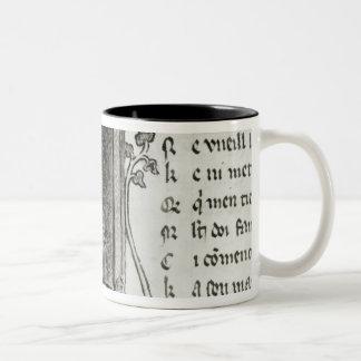 Marie de France writing Mugs