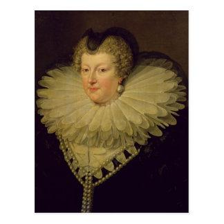 Marie de Medici , c.1617 Postcard