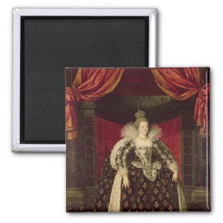 Marie de Medici  in Coronation Robes, c.1610 Magnet