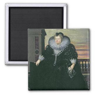 Marie de Medici  Queen of France, 1617 Fridge Magnet