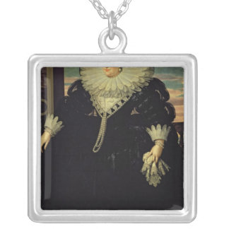 Marie de Medici  Queen of France, 1617 Silver Plated Necklace