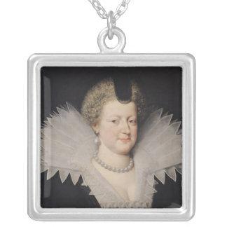 Marie de Medici Silver Plated Necklace