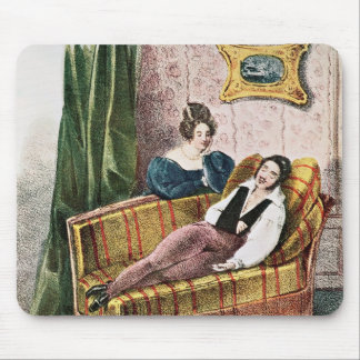 Marie Dorval  in the role of Adele d'Hervey Mouse Pad