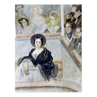 Marie Duplessis en el teatro Postales