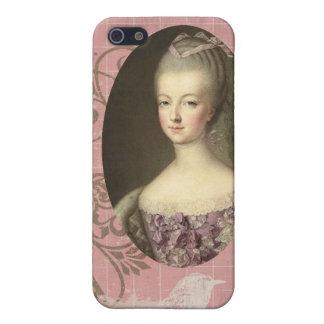 Marie elegante lamentable Antonieta iPhone 5 Carcasas