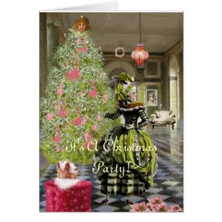 Marie Gala Christmas invitation