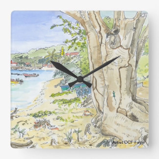 Marie Galante Beach Clock