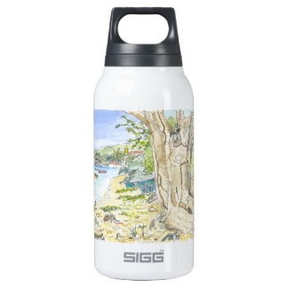 Marie Galante Beach Insulated Water Bottle