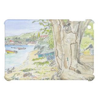 Marie Galante Beach iPad Cover Case