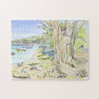 Marie Galante Beach Puzzle
