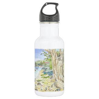 Marie Galante Beach Stainless Steel Water Bottle