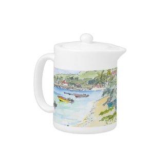 Marie Galante Beach Teapot