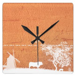 Marie-Galante island Wall Clock