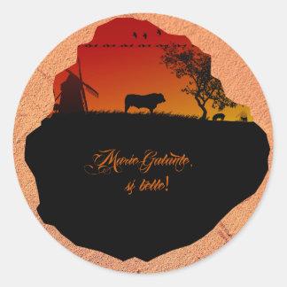 Marie-Galante island Sticker
