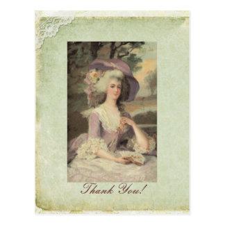 Marie Green postcard