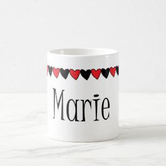 Marie Hearts Name Coffee Mug
