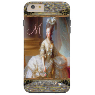 Marie inspiró IV el monograma 6/6s femenino Funda Resistente iPhone 6 Plus