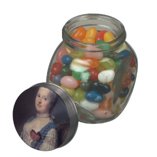 Marie Josephe of Saxony by Maurice Quentin Tour Jelly Belly Candy Jar