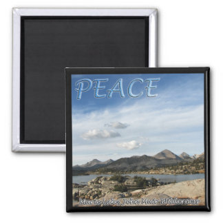 Marie Lake Peace Magnet