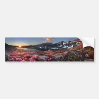 Marie Lakes Sunrise - John Muir Trail - Ansel Adam Bumper Sticker