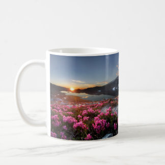 Marie Lakes Sunrise - John Muir Trail - Ansel Adam Coffee Mug