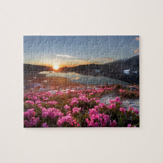 Marie Lakes Sunrise - John Muir Trail - Ansel Adam Jigsaw Puzzle