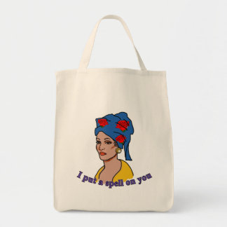 Marie Laveau I Put a Spell On You Canvas Bag