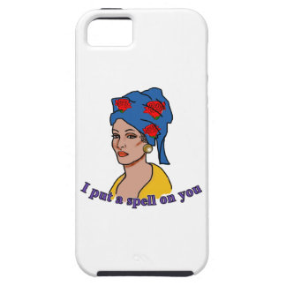 Marie Laveau I Put a Spell On You iPhone 5/5S Covers