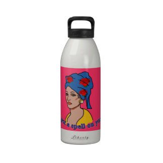 Marie Laveau I Put a Spell On You Drinking Bottle