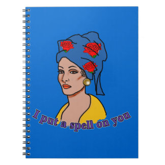 Marie Laveau I Put a Spell On You Spiral Note Books