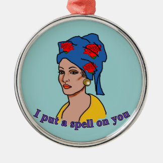 Marie Laveau I Put a Spell On You Christmas Ornament