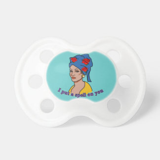 Marie Laveau I Put a Spell On You Pacifiers