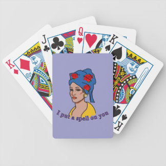 Marie Laveau I Put a Spell On You Poker Deck