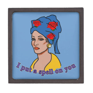 Marie Laveau I Put a Spell On You Premium Trinket Boxes
