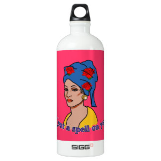 Marie Laveau I Put a Spell On You Water Bottle