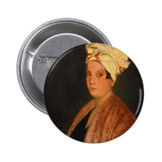 Marie Laveau: La reina del vudú Pin Redondo De 2 Pulgadas