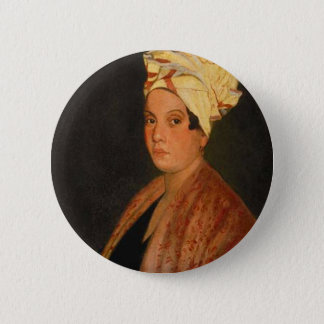 Marie Laveau: The Voodoo Queen Pinback Button