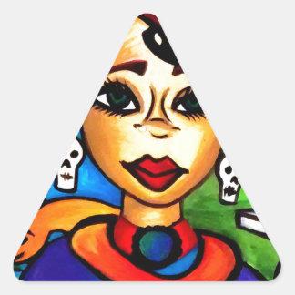 Marie Laveau Triangle Sticker