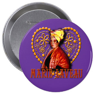 Marie Laveau Voodoo High Priestess Buttons