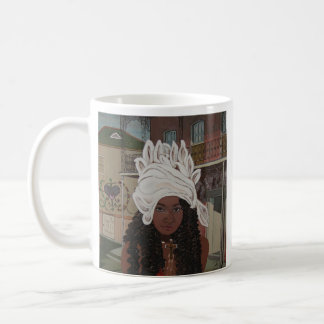Marie Laveau, Voodoo Queen of New Orleans Classic White Coffee Mug