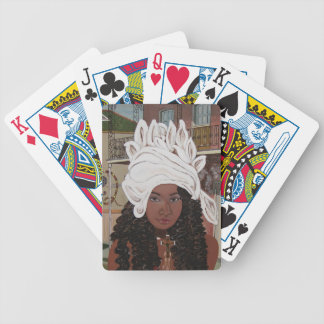 Marie Laveaux in the French Quarter Bicycle Playing Cards