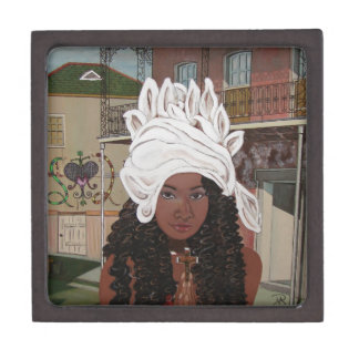 Marie Laveaux in the French Quarter Keepsake Box