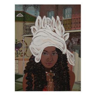 Marie Laveaux Postcard