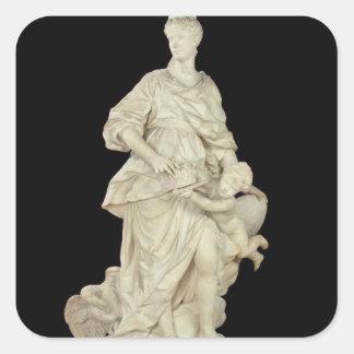 Marie Leszczynska como Juno, 1731 Colcomanias Cuadradas Personalizadas
