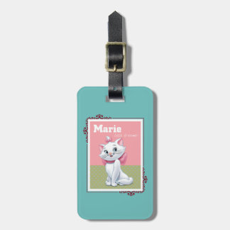 Marie Little Dreamer Luggage Tag