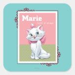 Marie Little Dreamer Square Sticker